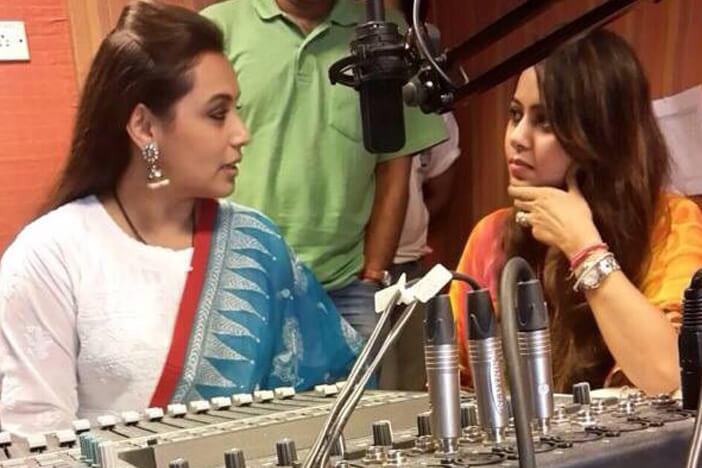 MJ Minal with Rani Mukherjee